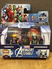 Marvel Avengers Assemble Minimates Hawkeye and Crossbones NEW!!