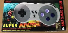 SNES Classic Edition Wireless Controller - Nyko Super Miniboss - Brand new -