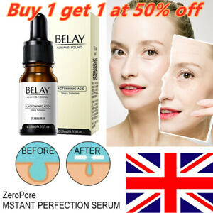 Zero Pore Instant Perfection Serum Lactobionic Acid Essence Anti-Aging Belay