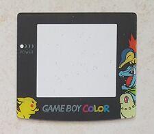 NEU Screen Lens Pokemon Pikachu, Endivie Game Boy Color - Gameboy GBC Linse