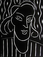 MATISSE - TENNY - XXe SIECLE ORIGINAL LINOCUT - 1938 - FREE SHIP  IN THE US !!!