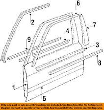 BMW OEM 325is Front Door Window Sweep-Belt Molding Weatherstrip Left 51211913055