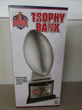 Fantasy Football League Commissioner's Trophy Bank with Key New in Box