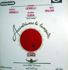 GLORIA GUIDA  TROVAJOLI DORELLI LP OST ACCENDIAMO LA LAMPADA LABEL CAM RSAG 9103