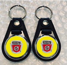 YELLOW  FORD F-100 KEYCHAIN SET 1954 1955 1956