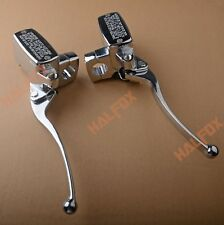 For Kawasaki Vulcan 1500 1600 2000 Chrome Brake Master Cylinder Clutch Levers