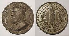 medaglia a ricordo della morte del Generale Garibaldi 1882 incisore Giorgi