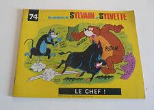 FEV10 ---- SYLVAIN SYLVETTE format à l'italienne  n° 74