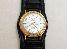 POLJOT de LUXE gold plated AUTOMATIC USSR vintage men's mechanical wristwatch
