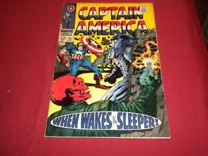 WA1 Captain America #101 marvel 1968 silver age 5.0/vg/fn comic! SEE DESCRIPTION