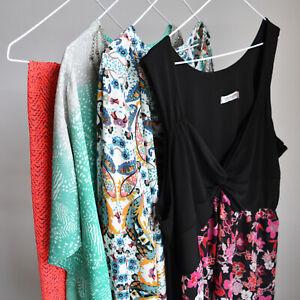 Size 18 Womens Clothing Bundle Lot 3x Tops 1x Skirt Floral Boho Belle Sky Avella