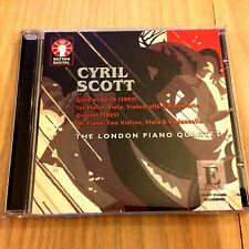 Cyril Scott Chamber Music – Piano Quartet Op. 16 / Quintet (CD 2001)
