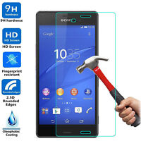 9H ULTRA CLEAR TEMPER GLASS SCREEN PROTECTOR For SONY XPERIA Z3 USA