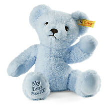 STEIFF My first steiff Teddy bear EAN 664724 24cm Blue baby gift New