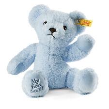STEIFF My first steiff Teddy bear EAN 664724 Blue 24cm baby gift New
