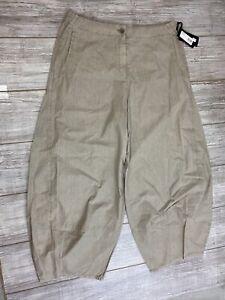 NWT $299 NEW OSKA Women's Hose Gizem size 5 Tan Pants Front Pockets Lightweight