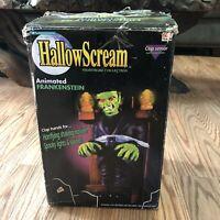 "1997 Trendmaster 12"" Hallowscream Animated Lights Shakes Frankenstein Halloween"
