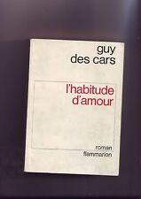 guy des cars - l'habitude d'amour