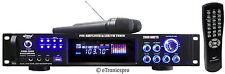 2000W PYLE PRO KARAOKE AMP AMPLIFIER iPOD MP3 PLAYER INPUT AM/FM USB w/CABLE NEW