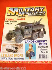 MILITARY MODELCRAFT INT - SCAMMELL PIONEER -  JULY 1998
