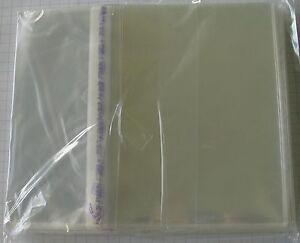 100 AUSSENHÜLLEN / OUTER SLEEVES für JAPAN MINI LP CD NEU!