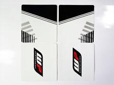 Decals Sticker Graphic WP WHITE POWER Upper forks for KTM DUKE125/200/390