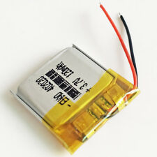 3.7V 120mAh rechargeable lipo Battery For MP3 GPS bluetooth smart watch 402020
