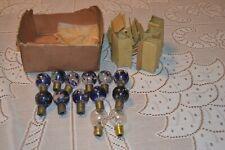 Vintage Christmas tree Lights C9 / C 9 Bulbs ~ Lamps ~ Round bulbs ~ Japan