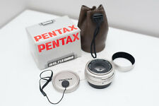 Pentax FA 43mm F/1.9 Limited lens silver