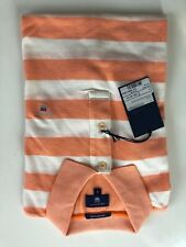Gant polo barstripe Oxford pique rugger, talla s, Carrot Orange, nuevo m. etiqueta