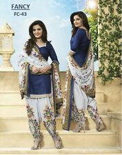 Indian Pakistani Bollywood Patiala Suit Salwar Kameez Ethnic Designer Dress 267