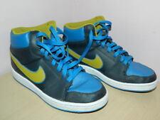 navy/blue/khaki green Nike Backboard II high top lace up trainers uk 5 eur 38