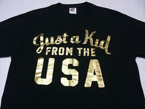 JUST A KID FROM THE USA - POWERADE OLYMPIC PROMO - MEDIUM SIZE T SHIRT!