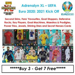 Panini Adrenalyn XL - UEFA Euro 2020: 2021 Kick Off: Fans / Power / Multipules