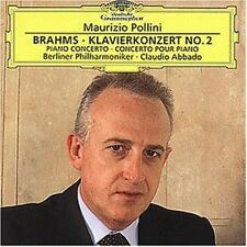 MAURIZIO/ABBADO/BP POLLINI - KLAVIERKONZERT 2  CD NEU BRAHMS,JOHANNES