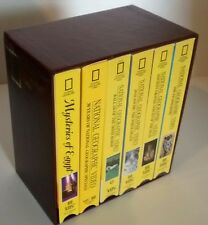 NATIONAL GEOGRAPHIC VHS club COLLECTORS BOX SET(6TAPES+BOX)  boxed set