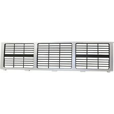 Front Grille Silver Fits 1985-1988 GMC C1500 K2500 GM1200401