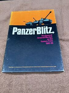 Vintage Avalon Hill Panzer Blitz Game- Excellent Condition