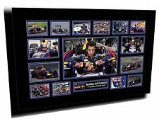 DANIEL RICCIARDO F1 RED BULL RACING SIGNED LIMITED EDITION FRAMED MEMORABILIA