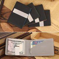 Banknote Holder Fashion Slim Wallet Money Clip Men's Purses Cash Clamp Wallets