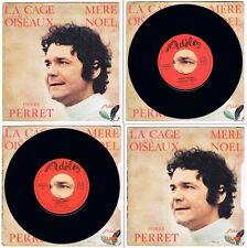 PIERRE PERRET – 45t SP 7'' – LA CAGE AUX OISEAUX / MÈRE NOËL – ADÈLE AD 45 814