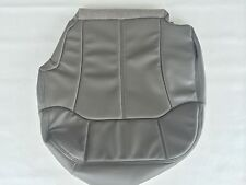 """00-02TAHOE,SUBURBN,SILVERADO LEATHER DRIVER SEAT COVER-PEWTER """"GRAY""""#122/12i"""