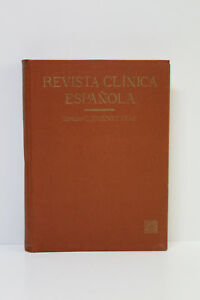 Antique Magazine Clinical Spanish Jimenez Diaz. Tomo VI 1942 July A September