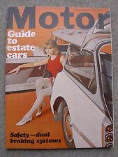 Motor (21 May 1966) Estate Cars, Triumph 2000 Estate Road Test, Targa Florio