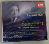 FRANZ SCHUBERT - THE COMPLETE SYMPHONIES - MUTI - Four CD Sigillato