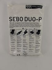 Sebo duo-P Carpet Cleaning Powder Refill Box 10 x 500g Janitorial Stain Genuine