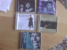 SELECTION OF FIVE ELLA FITZGERALD CD'S COMPILATION JAZZ