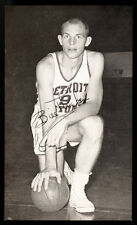 1957-58 J.D. McCarthy Detroit Pistons Postcard Bill Thieben Rookie Card