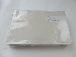 Charisma Sonia Diamond Jacquard Cream Ivory bedskirt