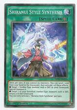 Shiranui Style Synthesis MP16-EN220 Common Yu-Gi-Oh Card 1st English Mint New